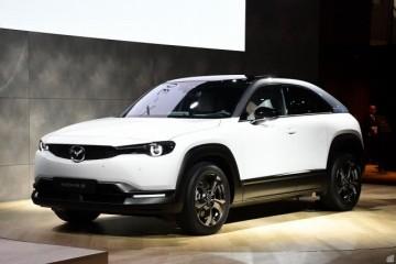 续航200km+预售3.5万美元起对开门的马自达MX-30已投产