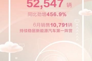 上半年销量同比暴增456.9%,欧拉品牌这是要逆天了!
